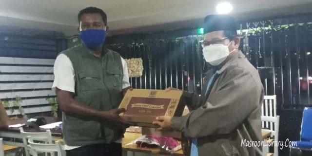 Jemaat Papua Barat Berikan Bantuan Korban Kebakaran | Perluas Persahabatan