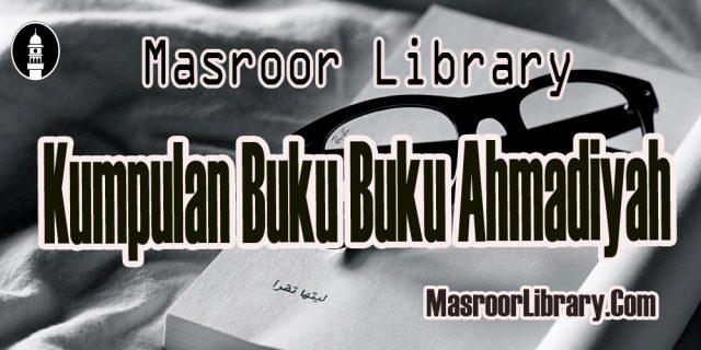 Kumpulan Buku Buku Ahmadiyah