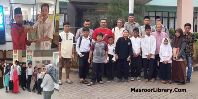 Duta Membaca Anak-Anak Waqf e Nou Jemaat Ahmadiyah Serang Banten