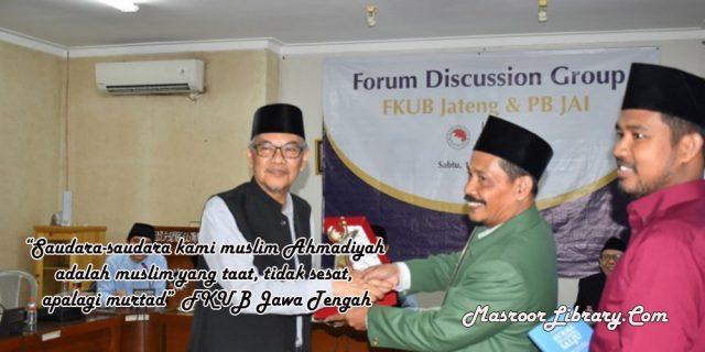 FKUB Jawa Tengah: Ahmadiyah Muslim Yang Taat