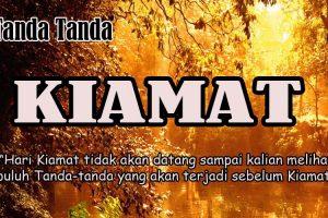 10 Tanda-Tanda Kiamat