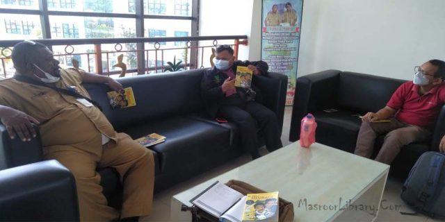 Mubalig Daerah Papua Barat Motivasi Literasi di Manokwari | Berkiprah di Literasi