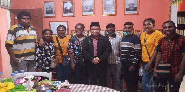 Kunjungan Ikatan Mahasiswa Karef Hanif Aifat | Mubalig Daerah Akan di Undang ke Kabupaten Maybrat