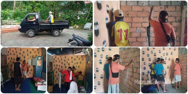 Renovasi Shalat Center Ahmad Amban | Menjelang Ramadhan