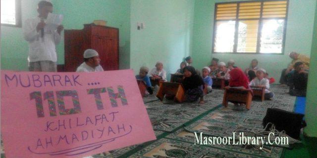 Kemeriahan Hari Khilafat Di Sulawesi Utara Dan Gorontalo